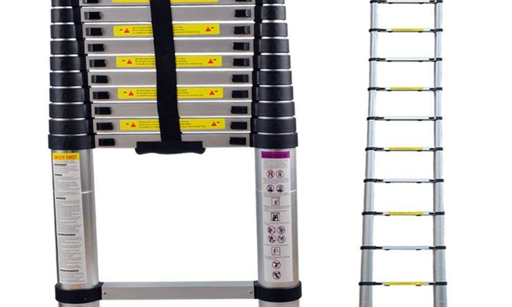 une échelle télescopique, que du simple!
