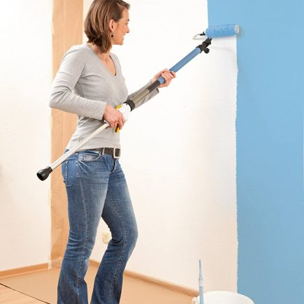 Application peinture murale